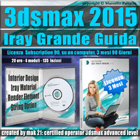 3ds max 2015 Iray La Grande Guida 3 mesi Subscription 1 Computer