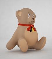 teddy bear 3d max
