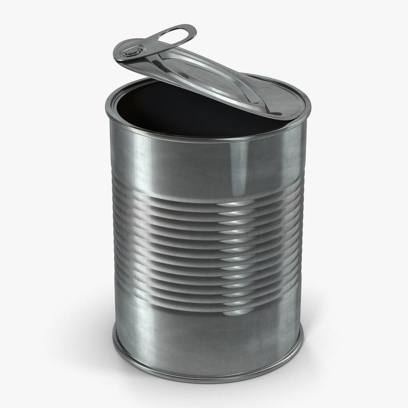 Open Empty Tin Can obj 3d model 01.jpg