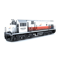 3d locomotive cc201 model