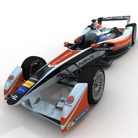 season 2 mahindra formula 3d max