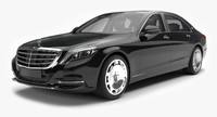 3ds mercedes maybach s600 2016