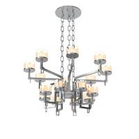 rivolta cups chandelier 3d 3ds