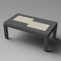 Extendable Modern Table