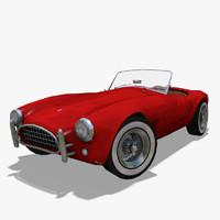 free normal ac cobra 3d model