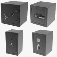 3d safes lock model