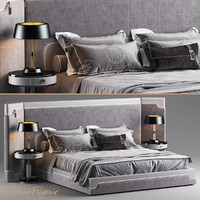 3d model bed vittoria frigerio