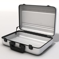 briefcase case obj
