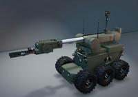 3d bomb robot model