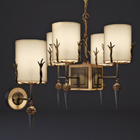 3d chandelier sconces