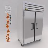 refrigerator true utility 3d model