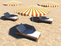 beach stag 3d ma