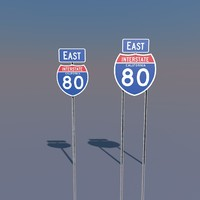 c4d interstate 80 signs california