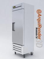3d utility refrigerator brand true model