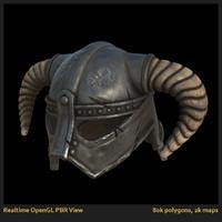 helmet barbarian iron lw