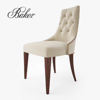 baker furniture ritz dining chair 3d max