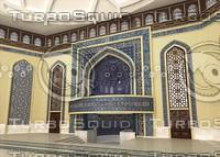 3d model islamic