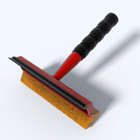 3d model squeegee