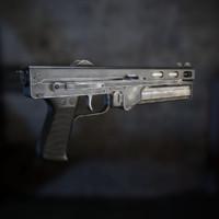 3d model tkb-486 stechkin
