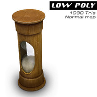 3d model hourglass ready games