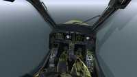 cockpit eurocopter tiger 3d model