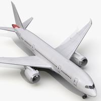 c4d boeing 787 8 dreamliner