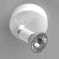 3d model ceiling spotlight