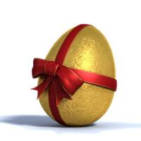 3d easter egg model