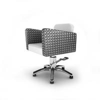 chair hairdresser 3d max