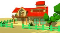 Cartoon Villa