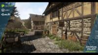 medieval village obj