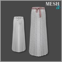 3d skirt bow