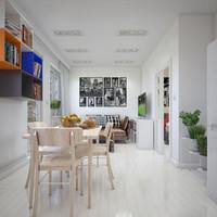 3d apartment interior
