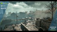 3d model medieval docks