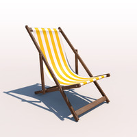 Deck Chair - Yellow