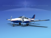 3d dwg beechcraft aircraft family
