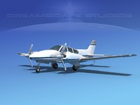 3d lwo beechcraft aircraft family
