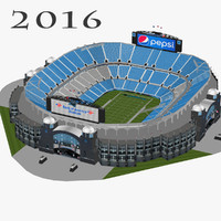 bank america stadium 3ds
