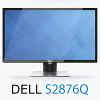 3d new dell s2817q monitor