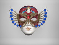3d mask golden model