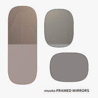 muuto framed mirrors 3ds