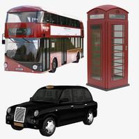3d max bus london 2016