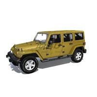 2012 wrangler s 3d model