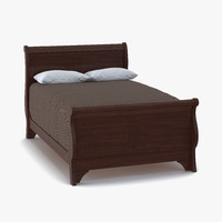 mahogany bed 3 max