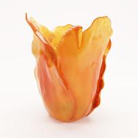 modeled vase 3d model