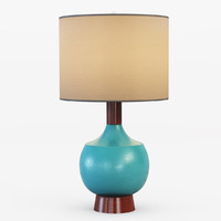 table modernist lamp max