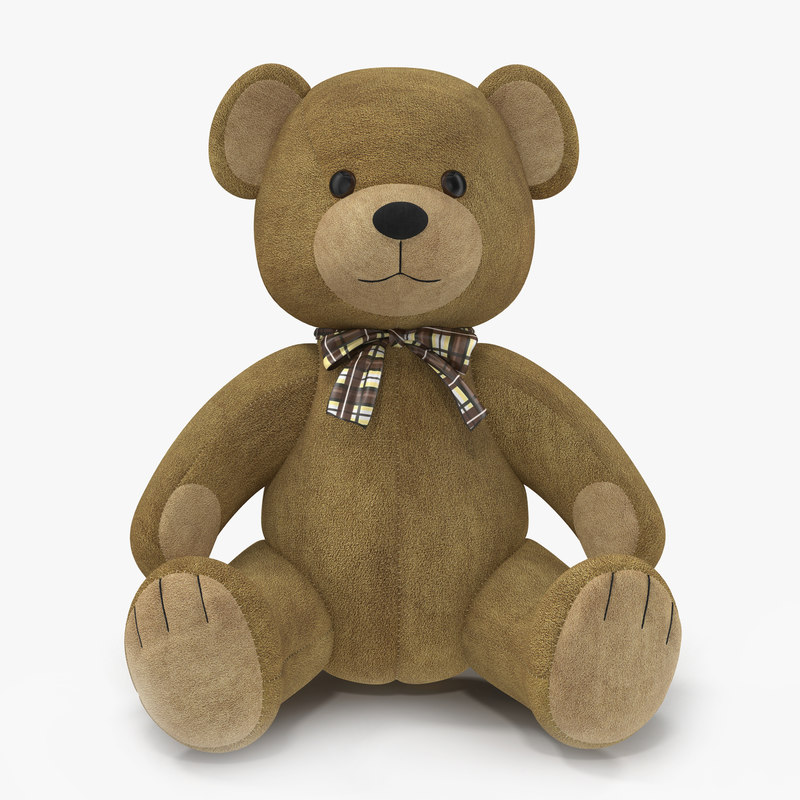 Teddy Bear 3d model 01.jpg