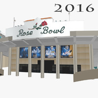 rose bowl 3d 3ds