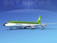 707-320 boeing 707 3d model