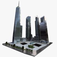 memorial buildings 3d max